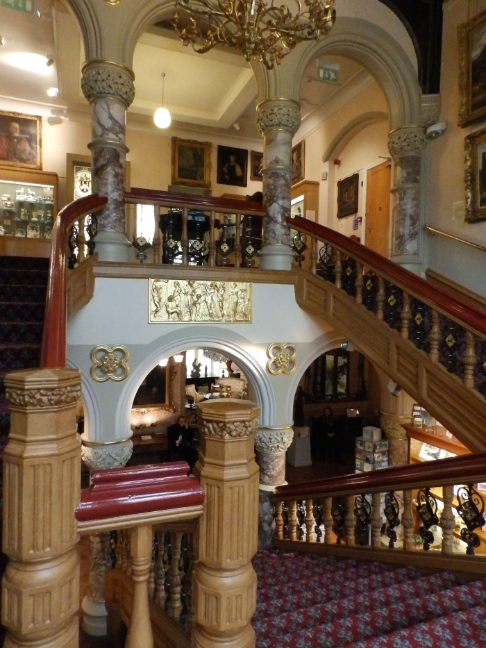 Cliffe Castle, Grand Staircase